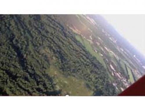 Полеты в Ленинградской области на аэрошюте Геркулес.