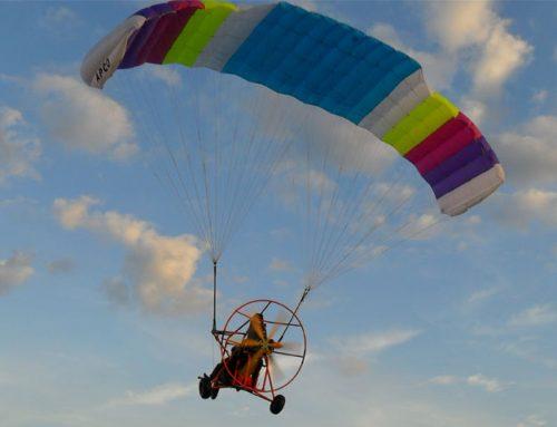 Аэрошют — летательный аппарат по цене мотоцикла.