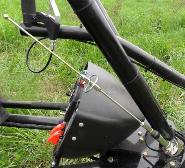Внешняя антена для портативной или базово-мобильной радиостанции