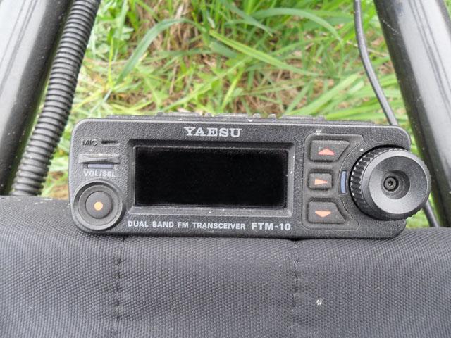 съемная панель yaesu ftm-10r