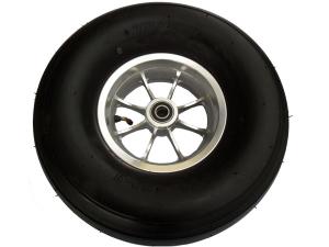 широкое колесо 18х8,50-8 на  узком хромированном диске